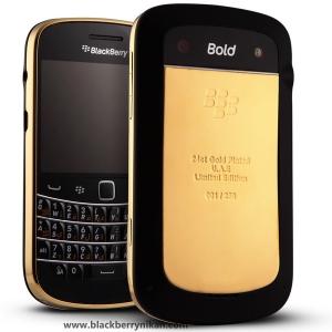 BlackBerry 9900 Gold Edition